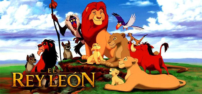 Poster de la película El rey león