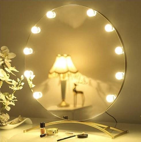 Espejo con diferentes focos