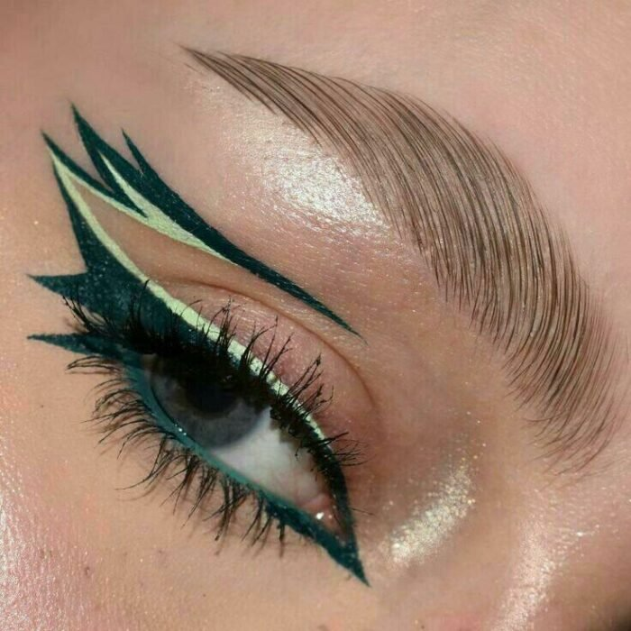 Outlined in green with double lines; aesthetic outlines that you will want to try