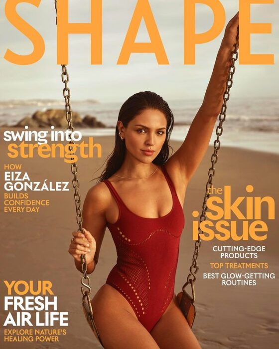 Eiza Gonzalez para la revista Shape