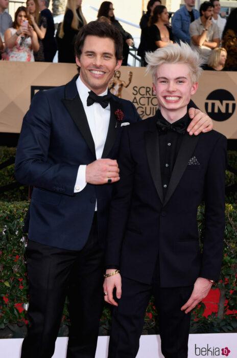 Jack Marsdeny James Marsden en la entrega de premios Óscar