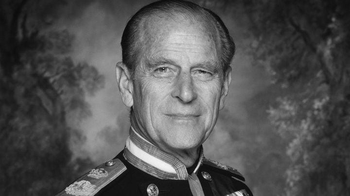 El principe Felipe durante su juventud