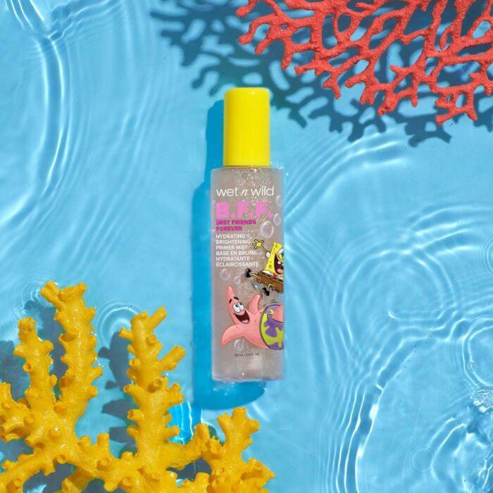 Gel con glitter; Nueva línea de maquillaje de Bob Esponja y Wet n Wild