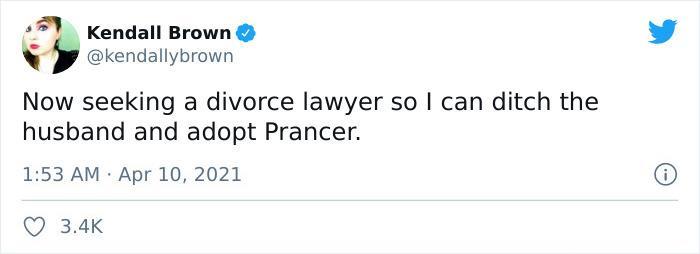 Comentarios en twitter sobre Prancer, el perrito que siempre está enojado