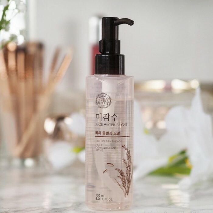 Limpiador facial a base de  arroz; Productos asiáticos que deberías sumar a tu rutina de belleza