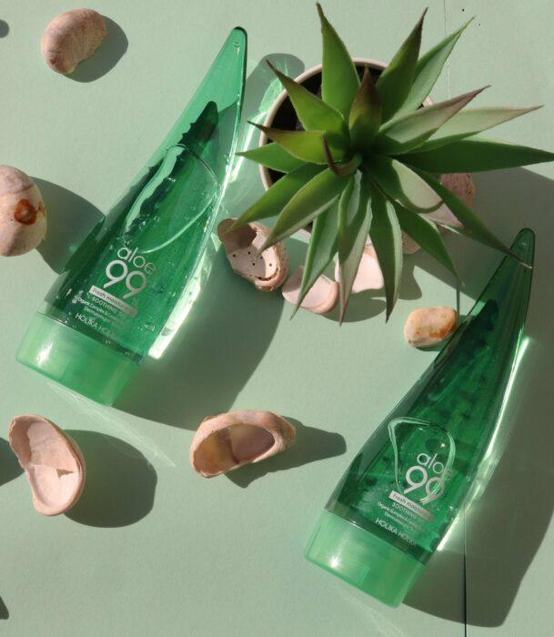 Gel de aloe vera para rostro;Productos asiáticos que deberías sumar a tu rutina de belleza