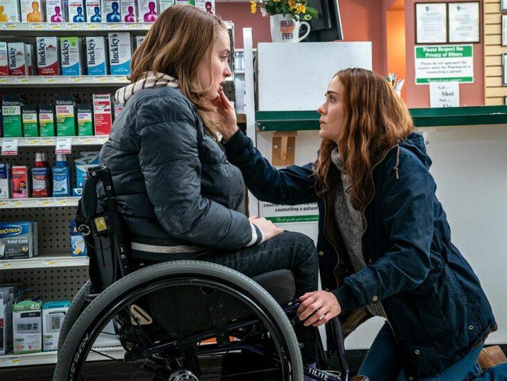 Escena de la película Corre con Sara Paulson; 4 Espeluznantes razones para ver 'Corre' la nueva película de terror en Netflix