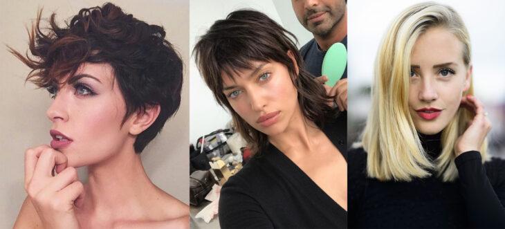 Diferentes estilos de corte de cabello
