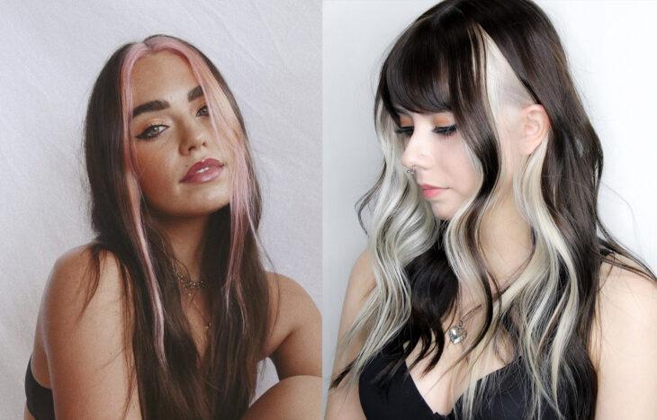 Diferentes tendencias para teñir el cabello este 2021