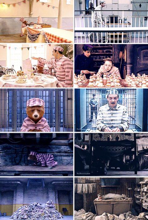 Similitud de escenas en las películas Paddington - El gran hotel Budapest; Universos paralelos en el cine