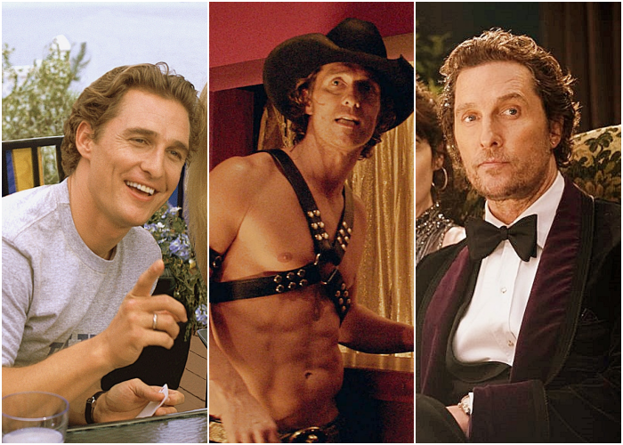 Matthew McConaughey en películas