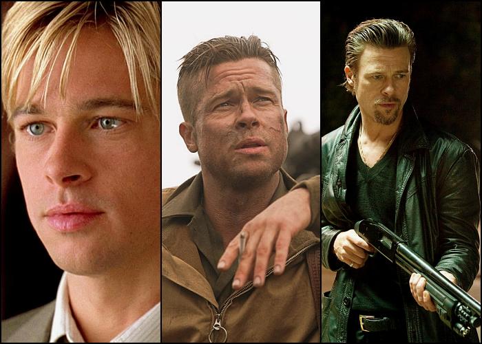 Brad Pitt en películas