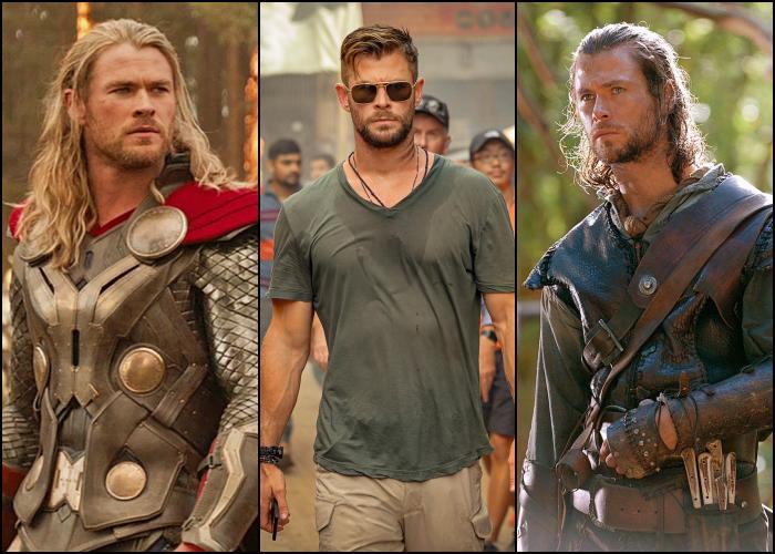 Chris Hemsworth en películas