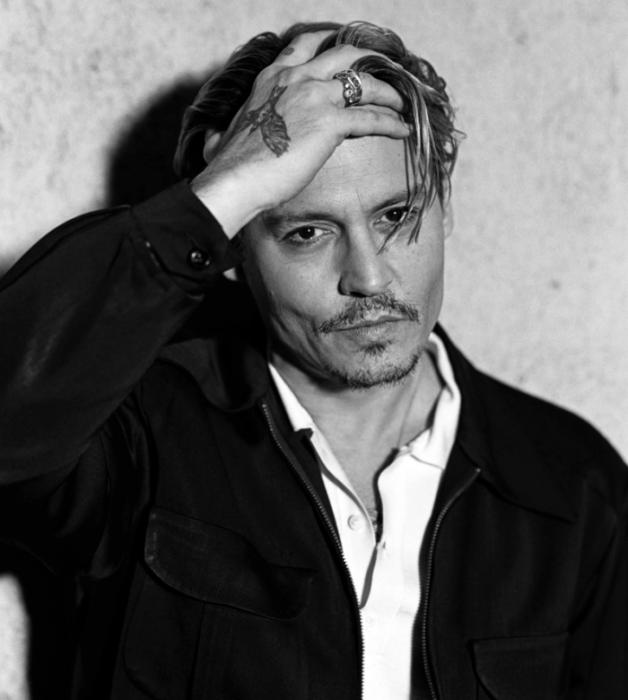 sesión de fotos con Johnny Depp