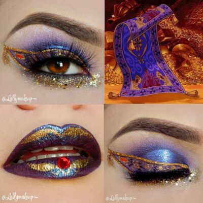 30 fabulous makeups inspired by classic cartoons 6