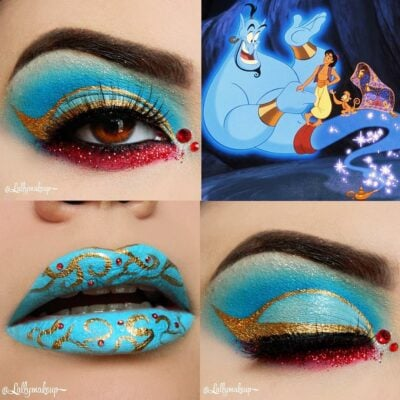30 fabulous makeups inspired by classic cartoons 8