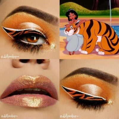 30 fabulous makeups inspired by classic cartoons 7