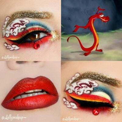 30 fabulous makeups inspired by classic cartoons 10