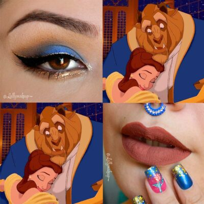 30 fabulous makeups inspired by classic cartoons 12
