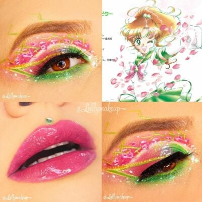 30 fabulous makeups inspired by classic cartoons 1