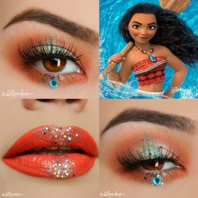 30 fabulous makeups inspired by classic cartoons 11