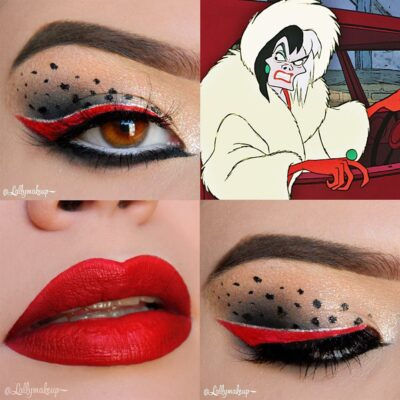 30 fabulous makeups inspired by classic cartoons 22