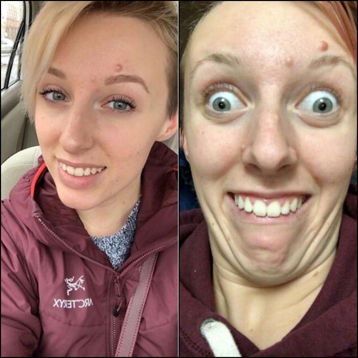 chicas demuestran en reddit que los ángulos pueden cambiar cómo te ves bella o rara