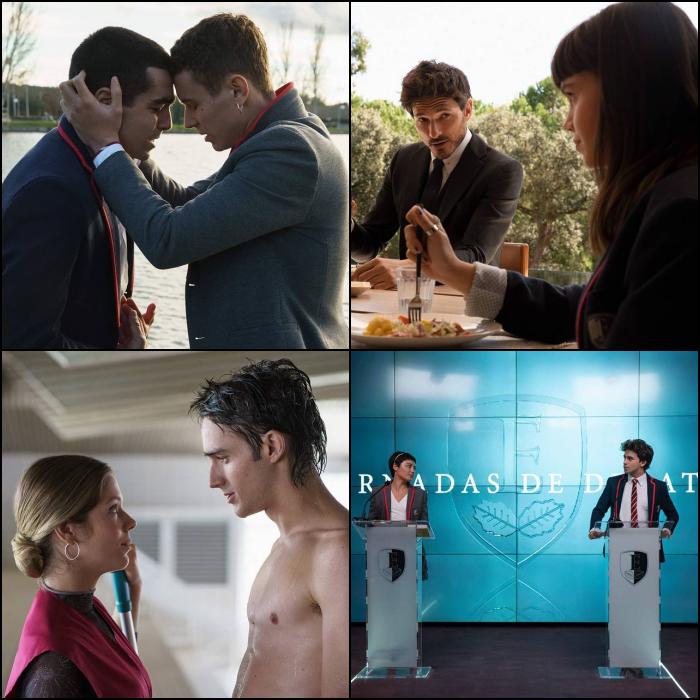 nuevas imágenes de la cuarta temporada de Élite