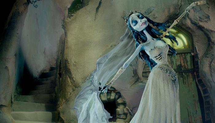 escena de The Corpse Bride
