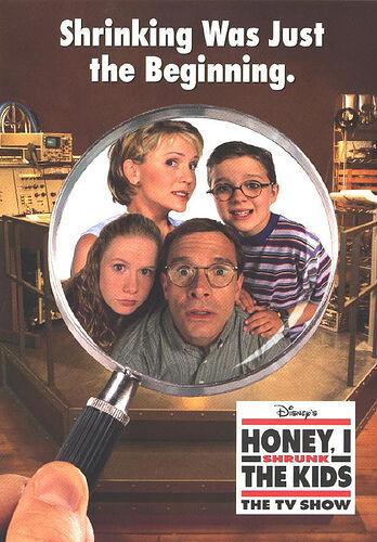 Poster de la serie Querida, encogía los niños