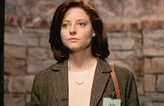 Clarice Starlking en Silence Of The Lambs