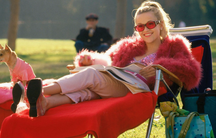 Elle Woods en Legally Blonde