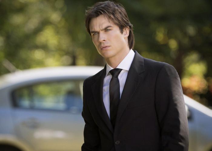 Damon Salvatore en The Vampire Diaries