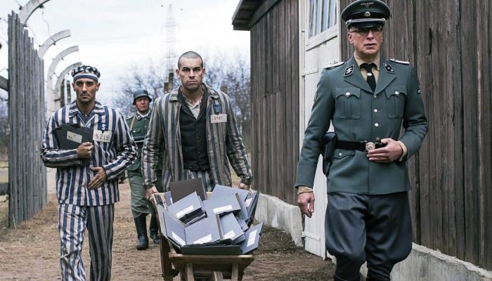escena de El fotógrafo de Mauthausen