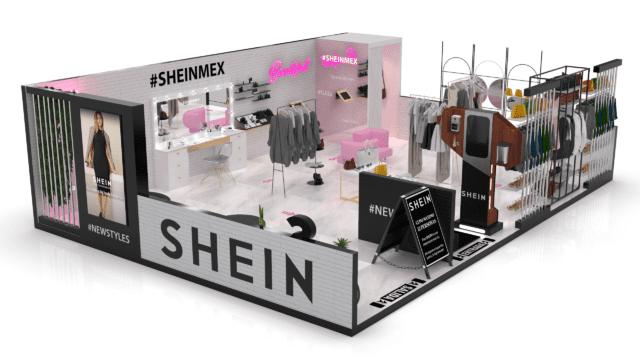 Simulador de tienda Shein en México; ¡Por fin! SHEIN abrirá una tienda 'física' en la Ciudad de México