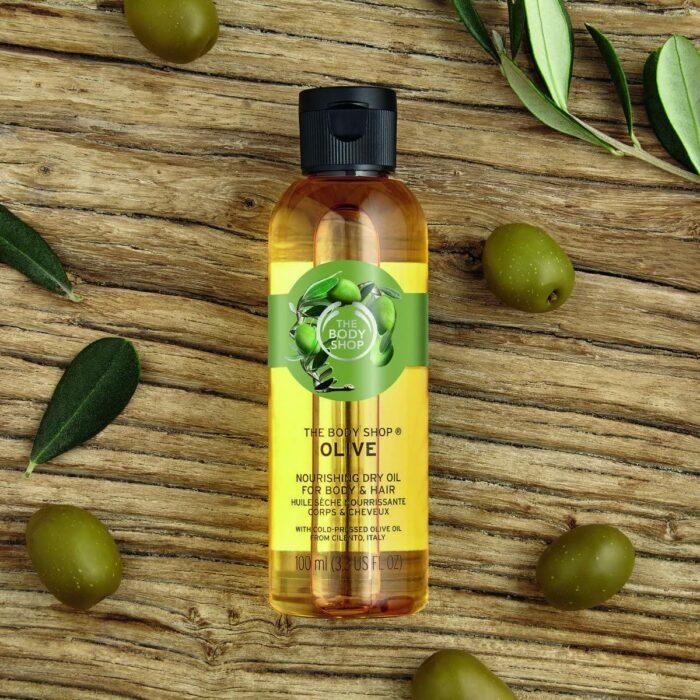 The Body Shop ;10 Aceites corporales para consentir cada rincón de tu piel