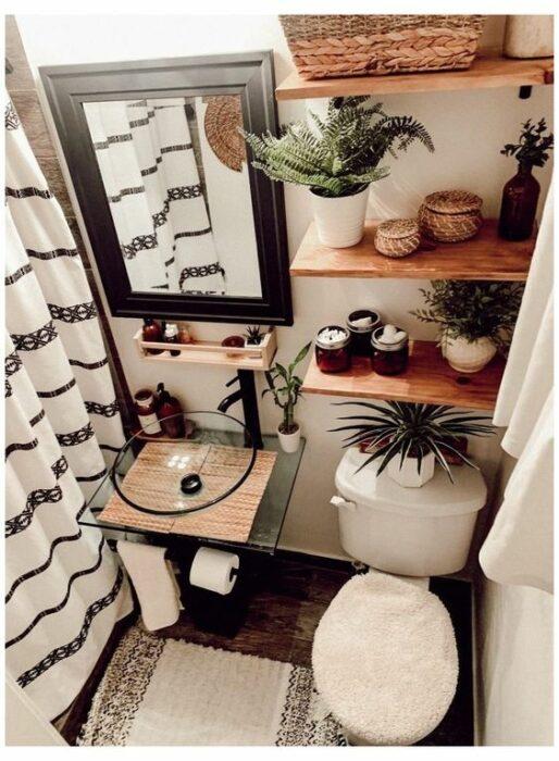 plantas decorativas en el baño ;13 Ideas para decorar tu depa con tantas plantas como desees