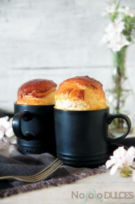 Pastelillo con jamón y pasas ;13 Sencillas rectas para hacer 'mug cakes' en microondas