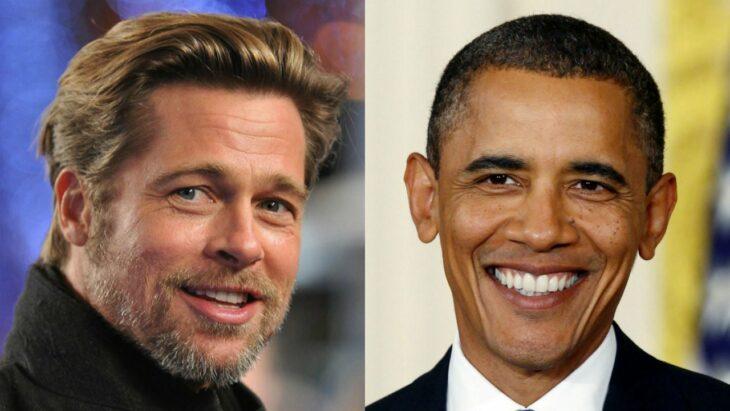 Barack Obama y Brad Pitt ;16 Famosos que no sabías están relacionados entre sí