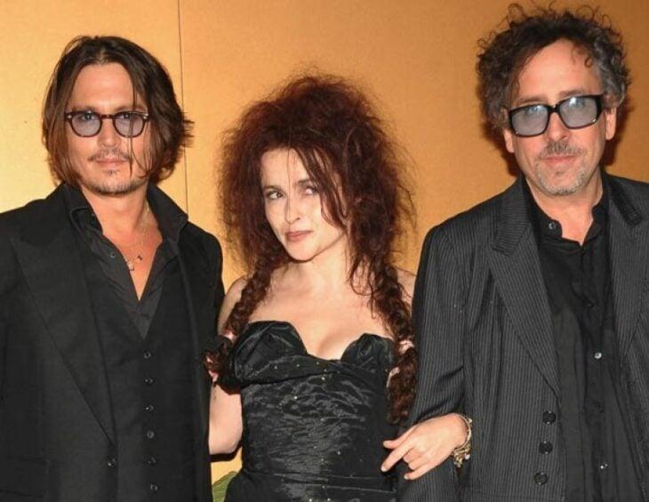 Johnny Depp, Tim Burton y Helena Bonham Carter ;16 Famosos que no sabías están relacionados entre sí