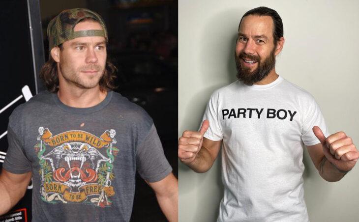 Antes y después del actor de Jackass Chris Pontius