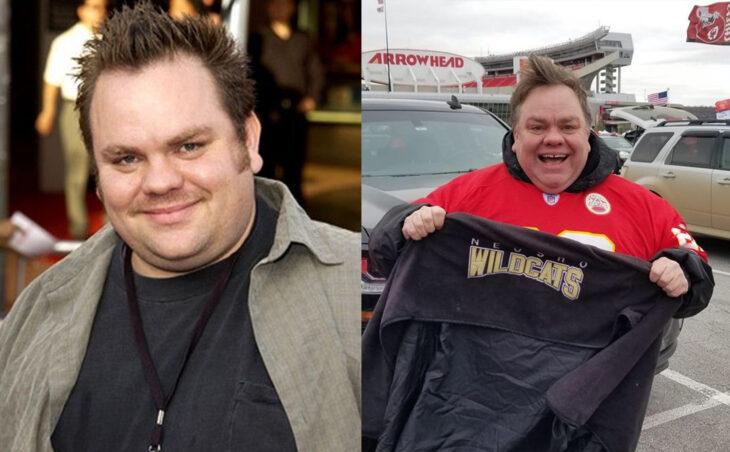 Antes y después del actor de Jackass Preston Lacy