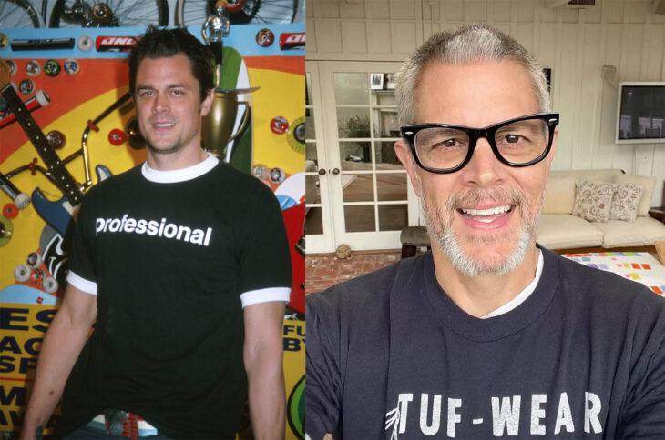 Antes y después del actor de Jackass Johnny Knoxville