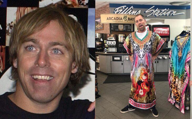 Antes y después del actor de Jackass Dave England