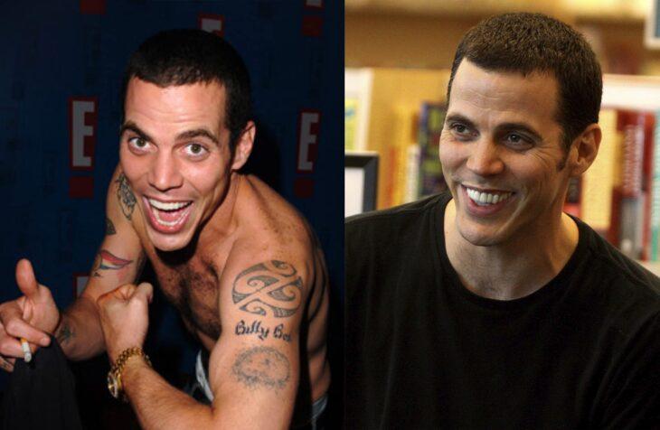 Antes y después del actor de Jackass Steve-O