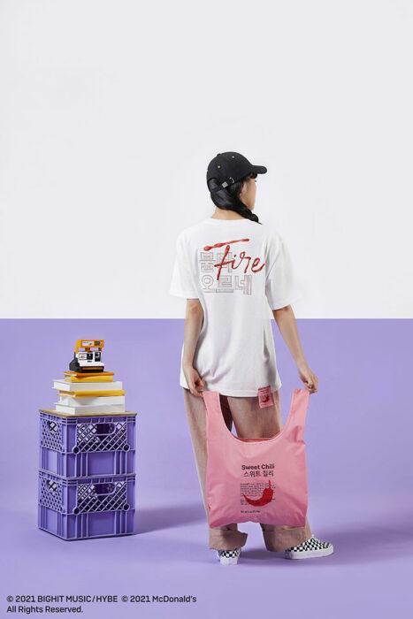 bolsa reciclable; ;Army, preparate para comprar toda la colección BTS de McDonalds