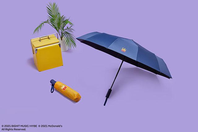 sombrilla; ;Army, preparate para comprar toda la colección BTS de McDonalds