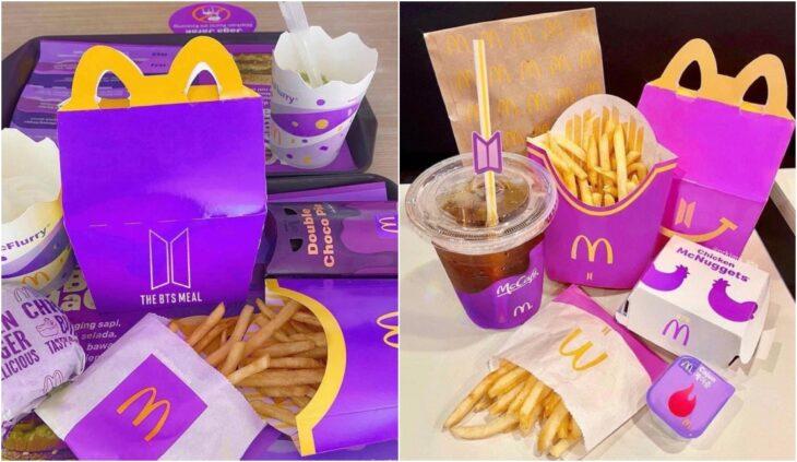 Combo BTS Meal; BTS y McDonald's de unen para un menú especial