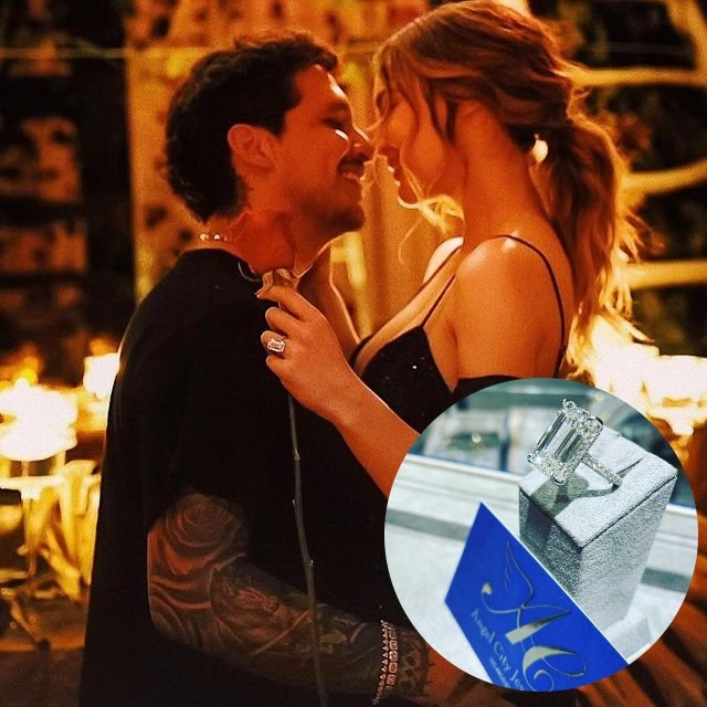 El anillo de compromiso de Belinda tiene un valor de 3 millones de dólares
