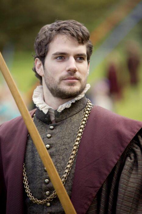 Henry Cavill protagonizando la película The Tudors de 2007 a 2010